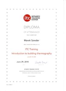 termowizja certyfikat