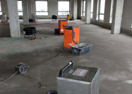 Osuszanie posadzek w nowo powstałych budynkach - Stan deweloperski